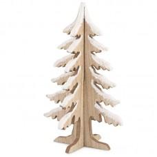 Natale albero in legno