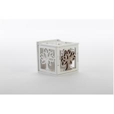 Bomboniera scatola legno albero vita