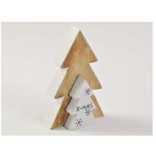 Natale albero legno