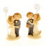 Segnaposto matrimonio sposi