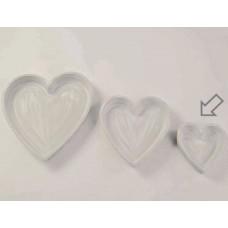 Vassoio legno cuore